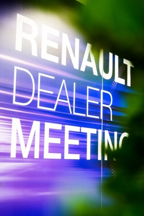 Renault Belgique Luxembourg dealer meeting